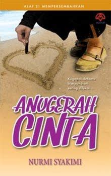 Novel Anugerah Cinta Dari Surga luahan isi hati review novel anugerah cinta nurmi syakimi