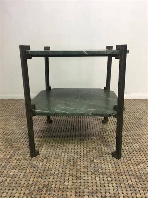 verde italia granite and bronze end table for sale at 1stdibs verde italia granite and bronze end table for sale at 1stdibs