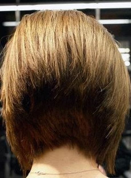 wedge stacked bob haircut short wedge hairstyles