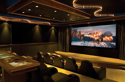 Garage Theater by Greasy Garage Or Helluva Home Theatre Gizmodo Australia