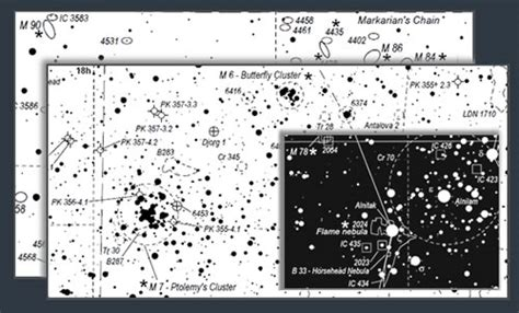 printable star atlas deep sky watch astronomical resources atlases guides
