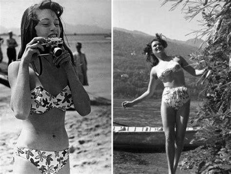 foto modelle in costume da bagno nuovi modelli di costume tra passato e presente il