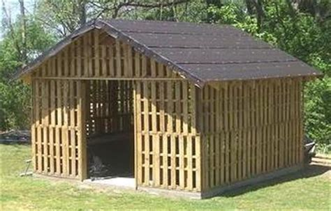 Eco Garden Sheds by Pallet Recycling Woodwork Projects