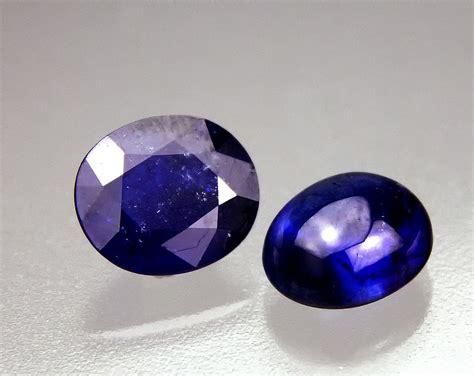 Ruby 2 62 Ct cobalt doped glass filled sapphire gem treatment