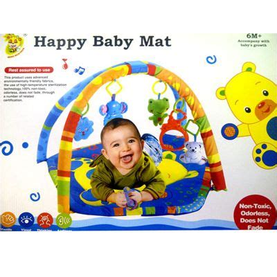 Mainan Edukasi Anak Happy Baby Mat matras bayi happy baby mat 01 matras bermain si kecil