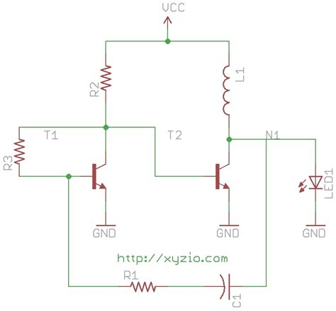 joule thief without inductor how a joule thief works xyzio