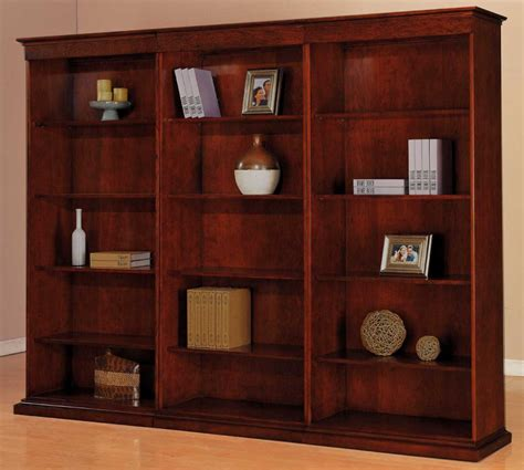 pictures of bookcases bookcases triple bookcase set with adjustable shelves