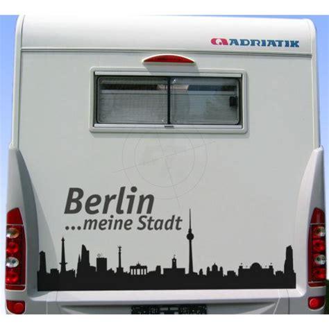 Aufkleber Folie Berlin by Aufkleber Skyline Berlin