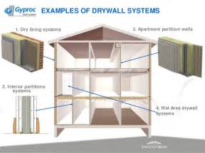 Floor Framing by Drywall Process Amp Benefits Of Drywall Saint Gobain Gyproc