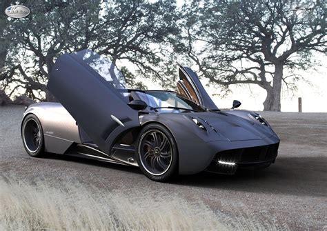 prototype 0 pagani huayra roadster rendering