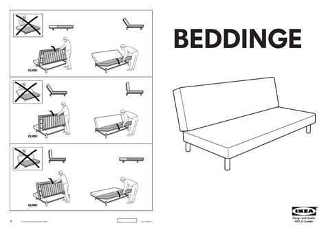 User Manual Ikea Beddinge Sofabed Frame 39 Reviews For Ikea Sofa Bed Manual