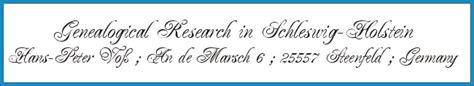 Schleswig Holstein Germany Birth Records Genealogy In Schleswig Holstein Germany