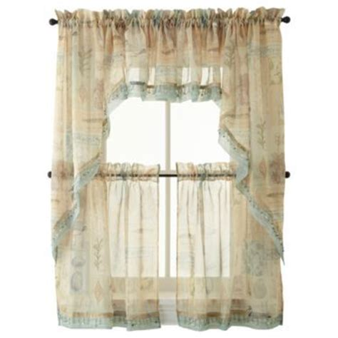 jcpenney kitchen window curtains 1000 images about seaside themed bathroom on pinterest