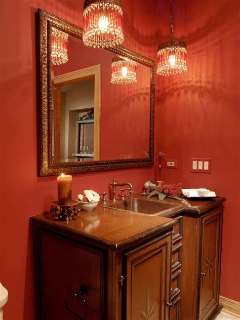 top 10 fascinating red bathroom light for inspirational