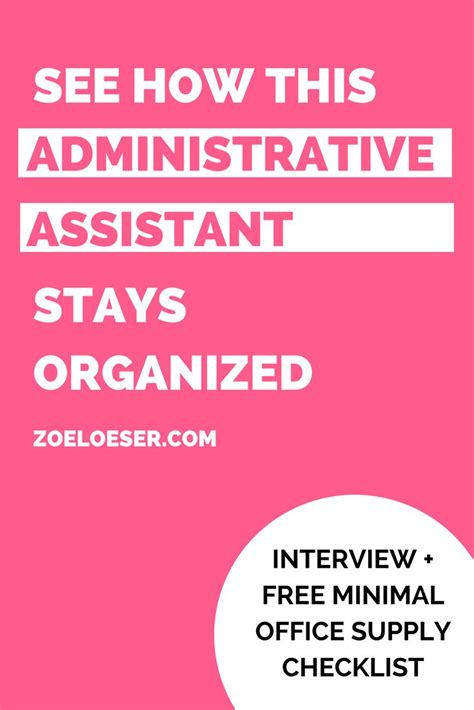 best 25 administrative assistant ideas on