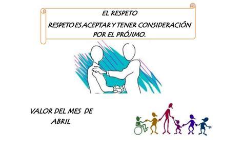 imagenes educativas sobre el respeto afiche el respeto