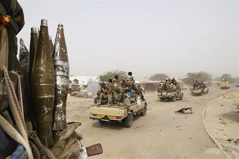 boko haram militants display control of captured towns in niger and chad launch major offensive against boko haram