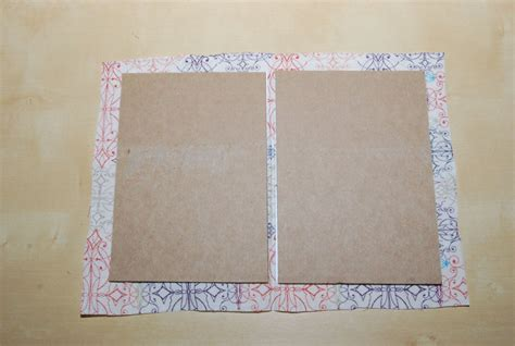 How To Make A Book Out Of Cardboard And Paper - blending beautiful 187 how to a card that stands out