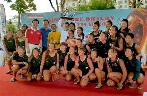 singapore dragon boat festival 2018 results ong ye kung at the singapore dragon boat festival