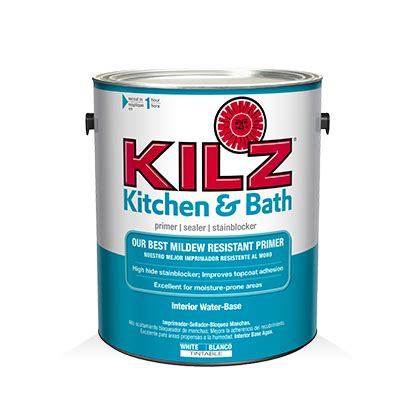 kilz 174 kitchen bath primer primers specialty paints