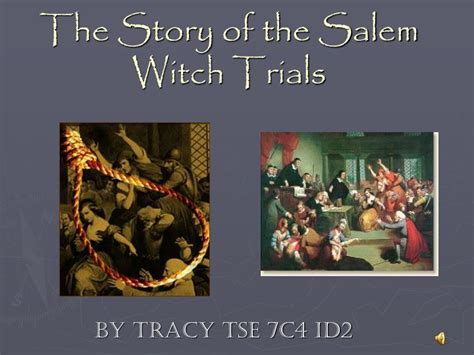 The Story Of The The Witch And The Wardrobe ppt the story of the salem witch trials powerpoint
