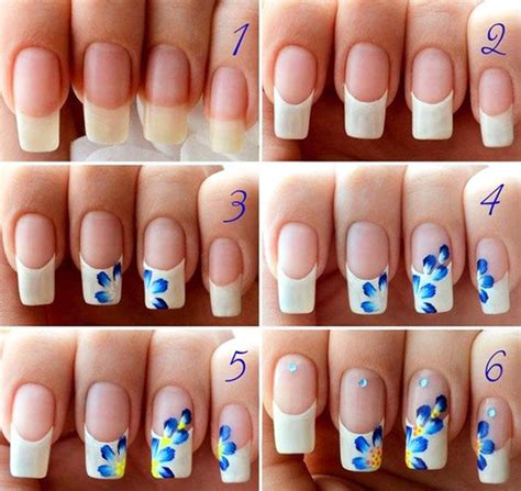 easy nail designs for beginners step by step