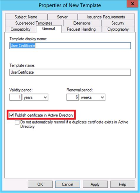 active directory certificate templates active directory certificate services ad cs key