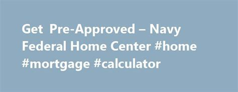 pre approval house loan calculator 25 best navy rates ideas on pinterest