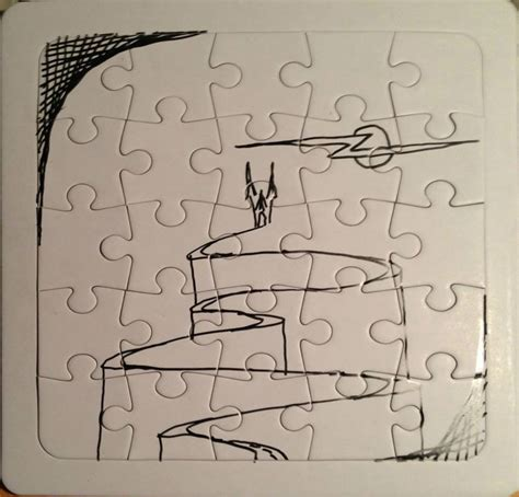doodle do puzzle doodle castle jigsaw puzzle by icelandknight on deviantart