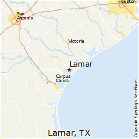 lamar texas map best places to live in lamar texas