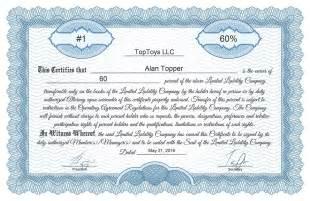 llc membership certificate template free stock certificate generator
