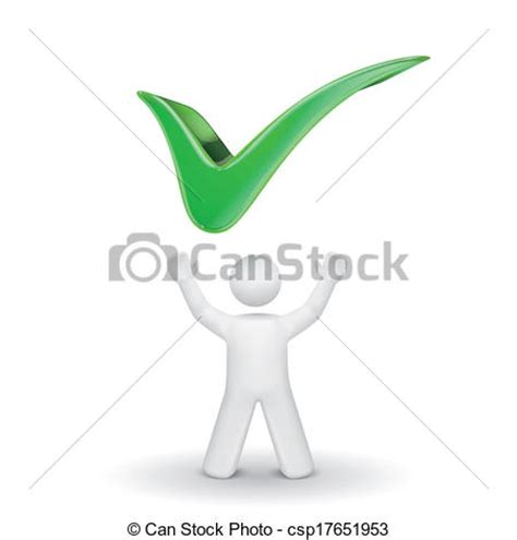 What Are Looking For In A Background Check Clipart Vector Of 3d Person Looking Up At A Check