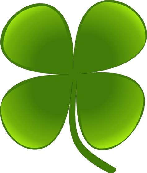 shamrock for march clip art free vector in open office