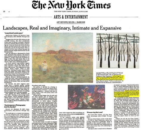 new york times art review section ny times reviews
