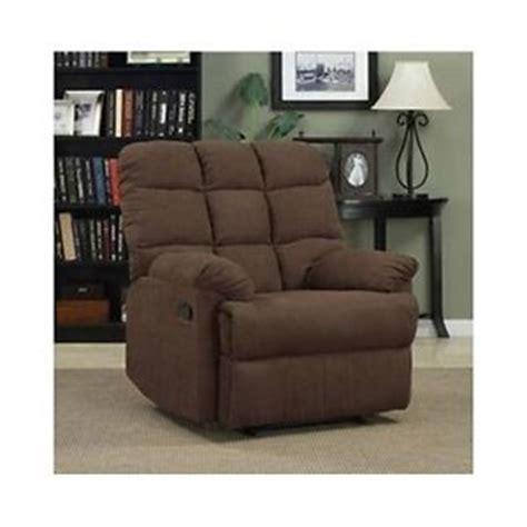 Overstuffed Chaise Lounge Chairs Recliner Lounge Chair Plush Wall Hugger Furniture Overstuffed Recline Chaise Ebay