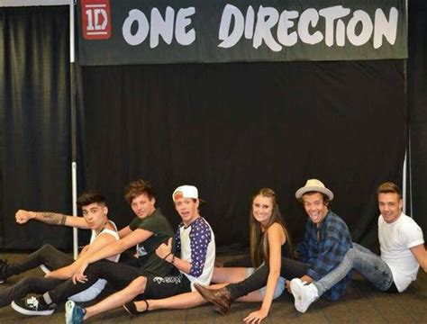 one direction 1d meet and greet and fans