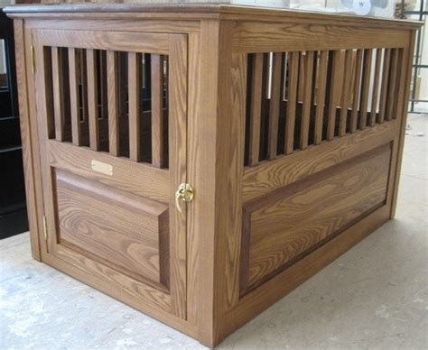 handmade furniture style crate modern kennels