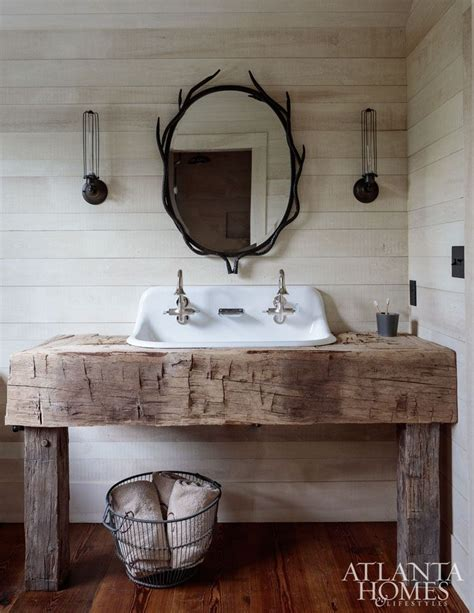 house  rustic lake wateree hunting lodge blogger