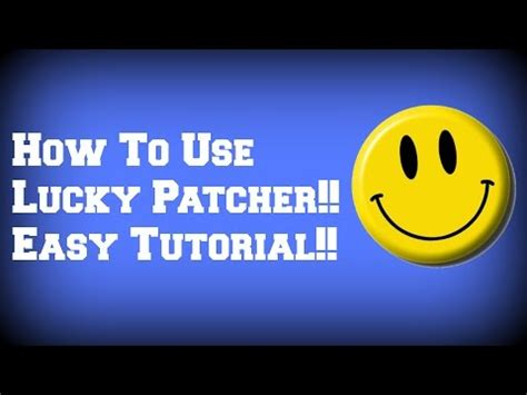 tutorial hack lucky patcher how to hack any game with lucky patcher no root nee