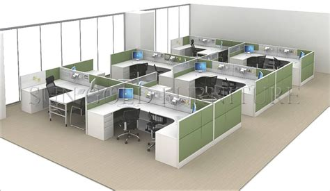 layout of office system top quality high wall office workstation call center