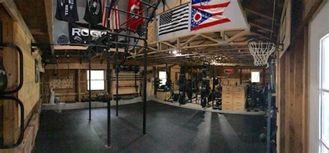 step  brians amazing crossfit barn gym garage gym lab