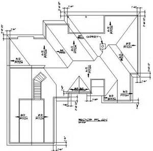 roof plans roof pitch plans home plans roofingpost