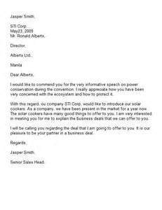 Hardware Company Introduction Letter 40 Letter Of Introduction Templates Exles