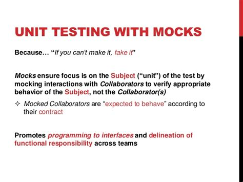 tutorialspoint mockito test driven development