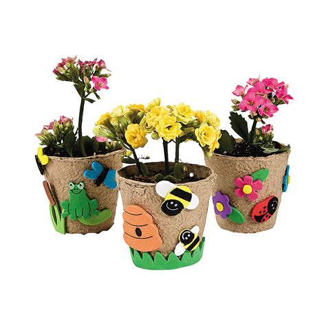 flower pot craft for garden pot craft kit trading