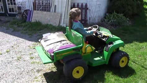 gator power wheels john deere gator delivery horse feed fun power wheels