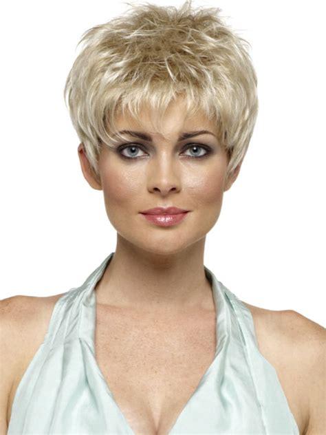 spikey short wigs short blonde spiky wig short hairstyle 2013