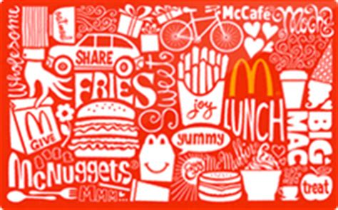 Mcdonalds Gift Card Online - buy mcdonald s gift cards raise
