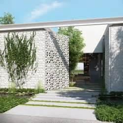 Front Door Gate Designs Ando Studio Modern Home And Luxury Apartment Renderings