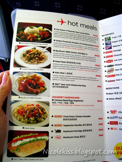 airasia menu airasia x to hangzhou journey of self discovery